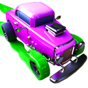 Color Cars - Extreme Flippy World Town Madness 3D