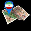 نقشه آفلاین ایران و جهان- ایران یار