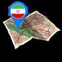 نقشه آفلاین ایران و جهان-ایران یار