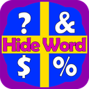 Hide Word (4 Pictures 1 Word)