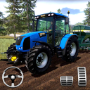 Farming Simulator - Big Tractor Farmer Driving 3D