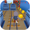 3D Subway Kids Rail Dash Run