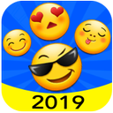 New 2019 Emoji for Chatting Apps (Add Stickers)
