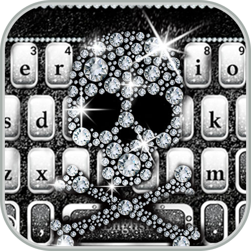 Diamondskull Keyboard Theme