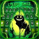 Creepy Devil Smile Keyboard Theme