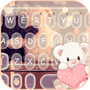 Cute Bear Keyboard Theme