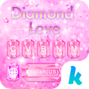 Diamond Love 💎 Keyboard Theme