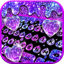 Galaxy Drop Heart Keyboard Theme