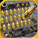 Gun Bullet Shooting Keyboard Theme
