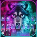 Neon Wolf New Keyboard Theme