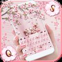 Sakura Floral Keyboard Theme