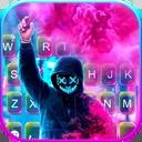 Smoke Purge Mask Keyboard Theme