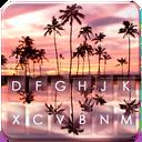 Summer Sunset Love Keyboard Theme