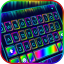 Super Neon 3d Keyboard Theme