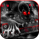 Zombie Monster Skull Keyboard Theme