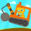 Dinosaur Digger 3 - Truck Simulator Games for kids