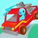 Fire Truck Rescue - Firefighter Games for Kids
