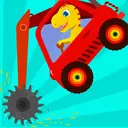 Dinosaur Digger - Truck simulator games for kids