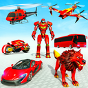 Drone Robot Transforming Game - Robot Car Game