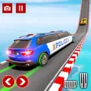 Police Limo Car Stunts GT Racing Impossible Tracks