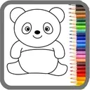 Coloring Games for Kids: Baby Drawing Book & Pages