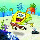 Sponge Bob in Bikini Button