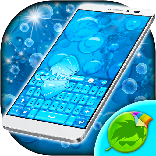 Clear Waterdrops Keyboard for Android - Download | Cafe Bazaar