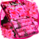 Pink Flowers Keyboard
