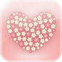 Flower Love GO Launcher EX AND GO SMS PRO