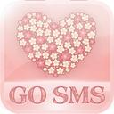 Flowerlove Theme GO SMS