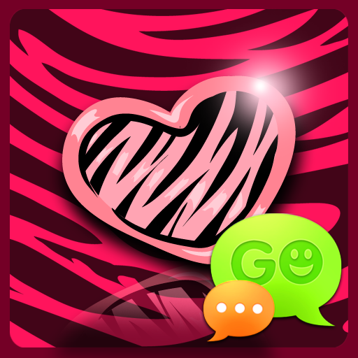 GO SMS Pink Zebra Theme for Android - Download | Cafe Bazaar