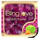 GO SMS PRO BLING LOVE THEME