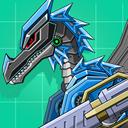 Black Pterosaur Attack - Robot Toy War