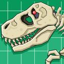 T-Rex Dinosaur Fossils Robot Age
