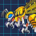 Toy Jurassic Robot Bee