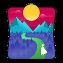 کوهستان - والپیپر زنده متریال