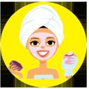 Beauty masks skin and hair