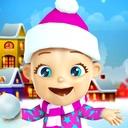 Talking Babsy Baby Xmas Games