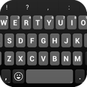 Emoji Keyboard - Black Round
