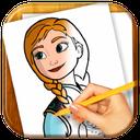 قدم به قدم آموزش نقاشی با آنا