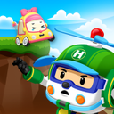 Robocar Poli Cliff Rescue Game - Rescue Team Play