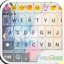 Free Glass Emoji Keyboard Skin