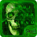 Flaming Skull Emoji Keyboard