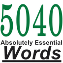 5040 لغت ضروری تافل + کوییز