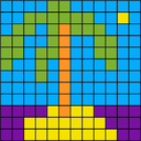 painting pixel