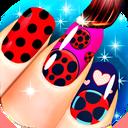Fashion Ladybug Nail Salon