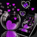 Pink Love Heart Theme
