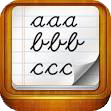 Learn English handwriting
