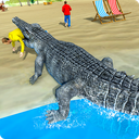 Hungry Crocodile Attack 3D: Crocodile Game 2019