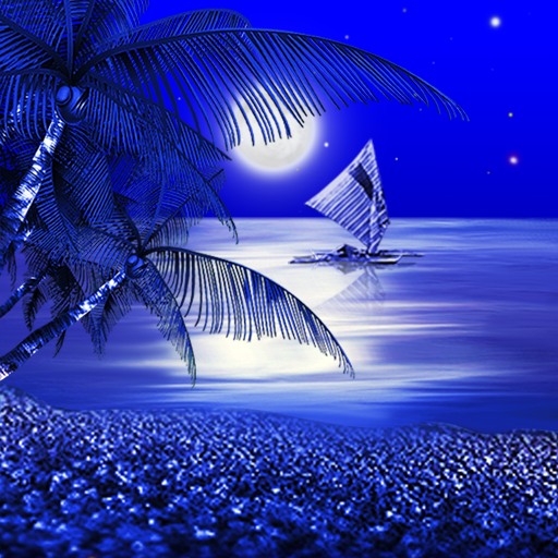 Night Beach Live Wallpaper